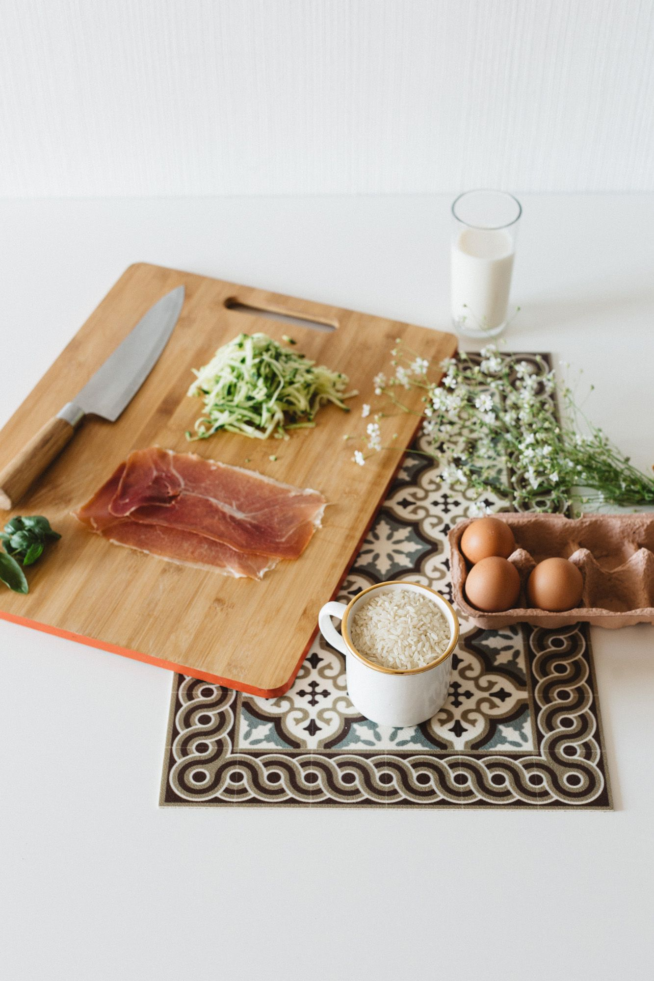 gratin de arroz — El Recetario