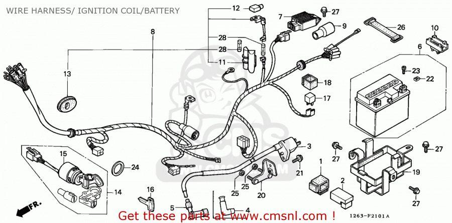 12+ 1989 Yamaha Street Motorcycle Wiring Diagram