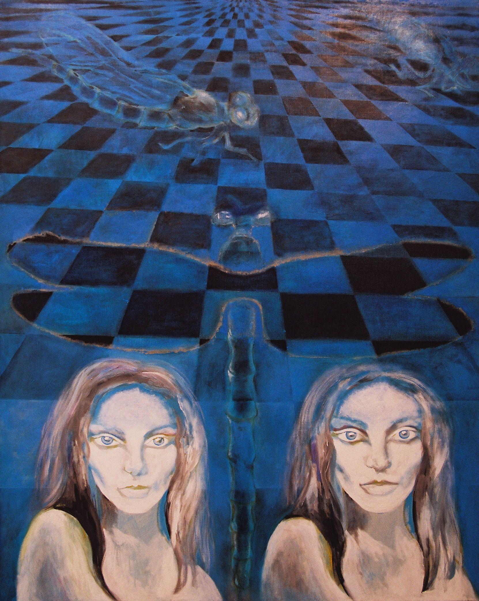 "Yury Ermolenko (Юрий Ермоленко)""Metamorphosis""(""ALICE NEW!""project) 2005 acrylic on canvas 179,5x144,5cm #YuryErmolenko #юрийермоленко #ЮрийЕрмоленко #живопись #yuryermolenko #acrylic #picture #painting #art #fineart #contemporaryart #modernart #inspiration #amazing #sexy #wonderland #hot #colorful #texture #RapanStudio #exhibition #psychedelic #metaphysics #cовременноеискусство #mystery #картина #artwork #выставка #alice #fairytale #dream #sensual #fantasy #AliceInWonderland #new…"