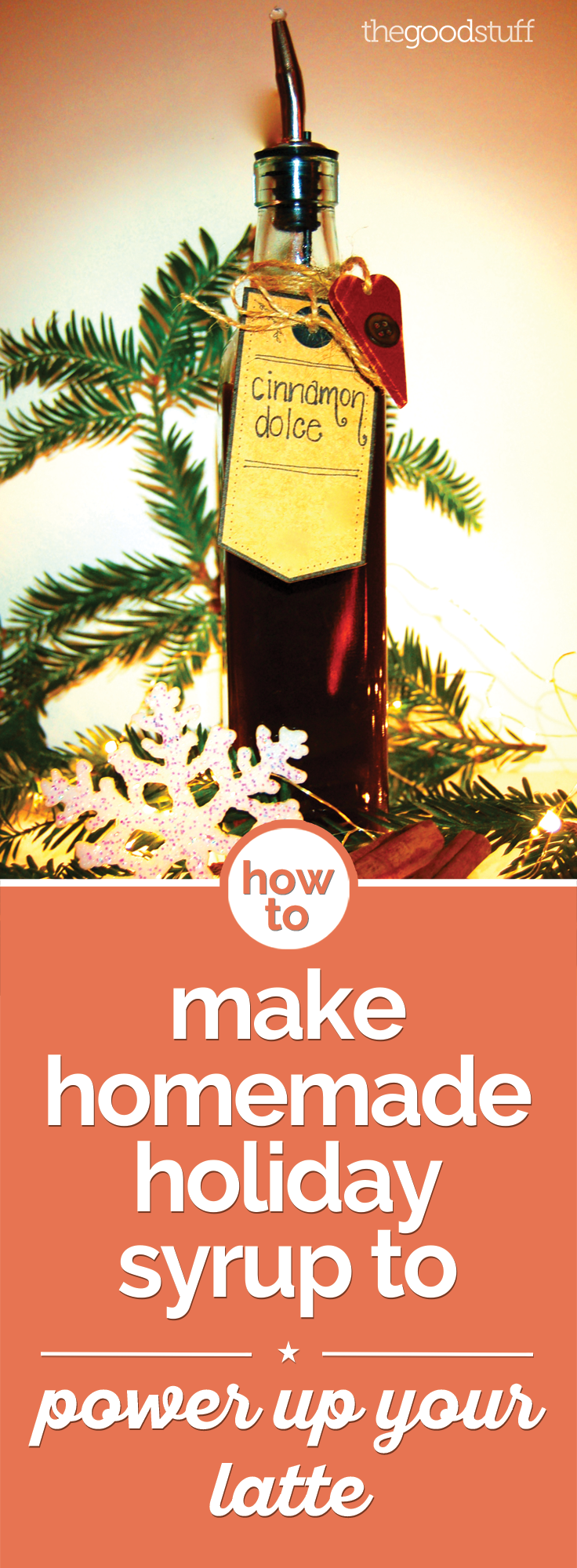 How to Make Homemade Holiday Syrup to Power Up Your Latte