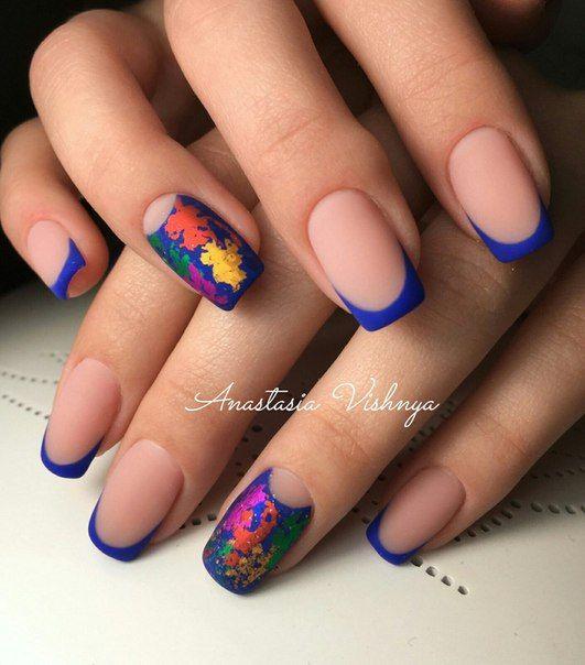 Маникюр | Видеоуроки | Art Simple Nail | nails | Pinterest | Diseños ...