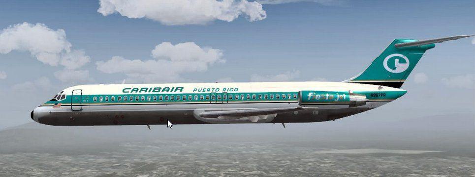 Caribair Dc 9 31 In 2020 Airline Aircraft Passenger Jet