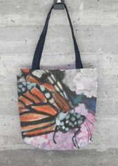 Monarch tote: What a beautiful product! Artist - Cindy Kornet
