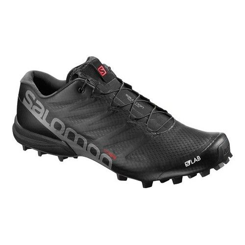 Salomon S-Lab Speed 2 Running Sneaker - Black Sneakers #hikingtrails