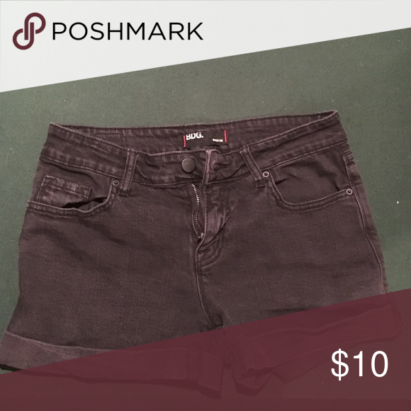 Selling this Black jean shorts! in my Poshmark closet! My username is: accentboutique. #shopmycloset #poshmark #fashion #shopping #style #forsale #Pants