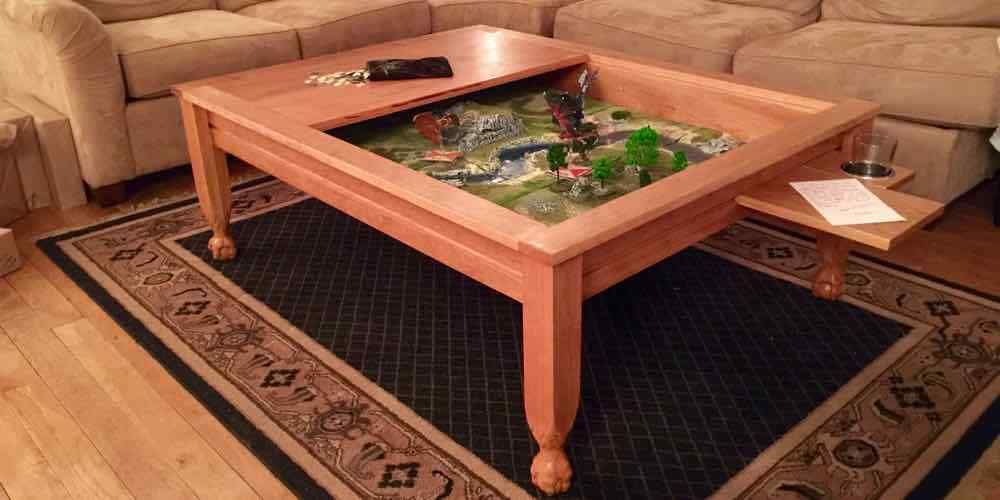 While There Are Many Gaming Table Options On The Market, Building Your Own Custom  Gaming Table Is A Great Option. Check Out How I Built My Own Gaming Table.