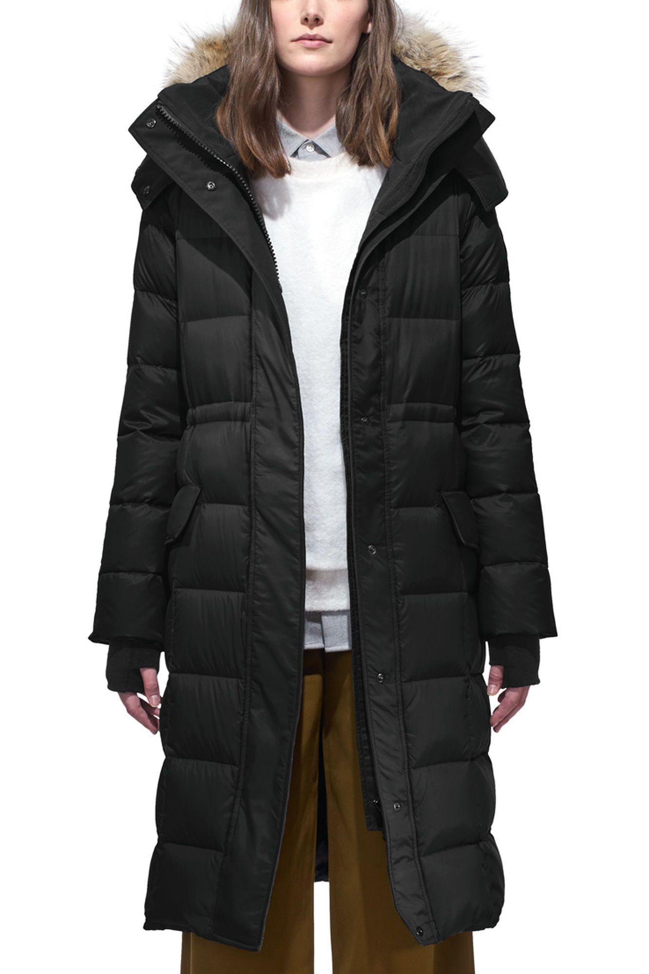 canada goose Lightweight Down Jackets Dark Sage Black
