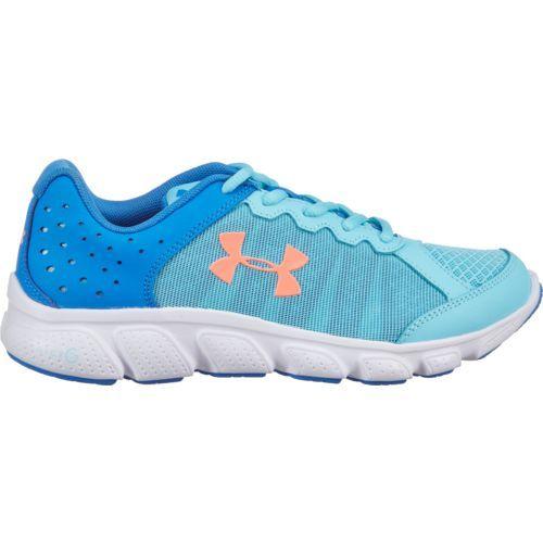 Under Armour Girls' Grade School UA Micro G Assert 6 Running Shoes (Venetian Blue, Size 4) - Youth Running Shoes at Academy Sports