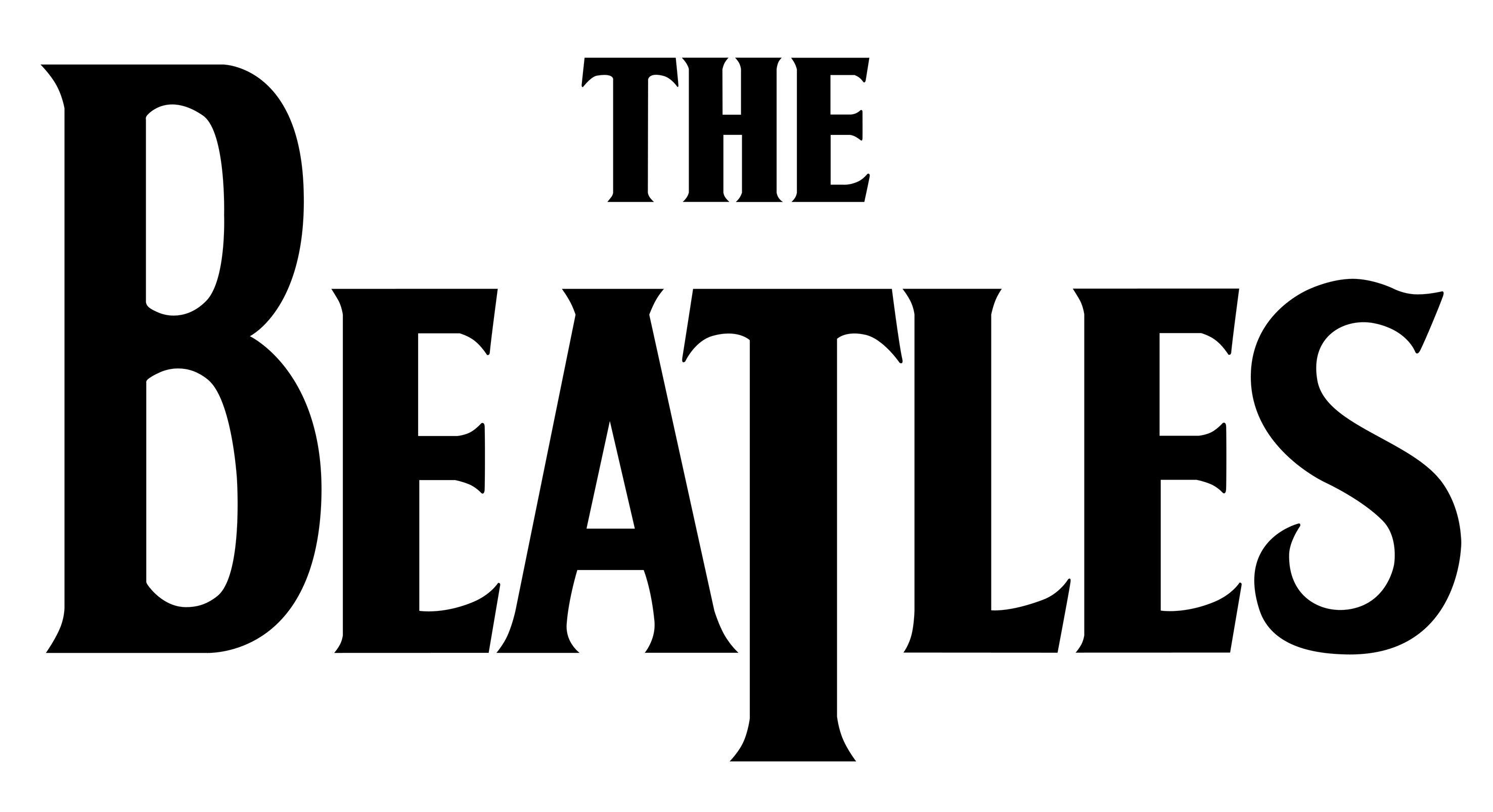 Beatles Cliparts The Beatles Band Logos Music Logo Design
