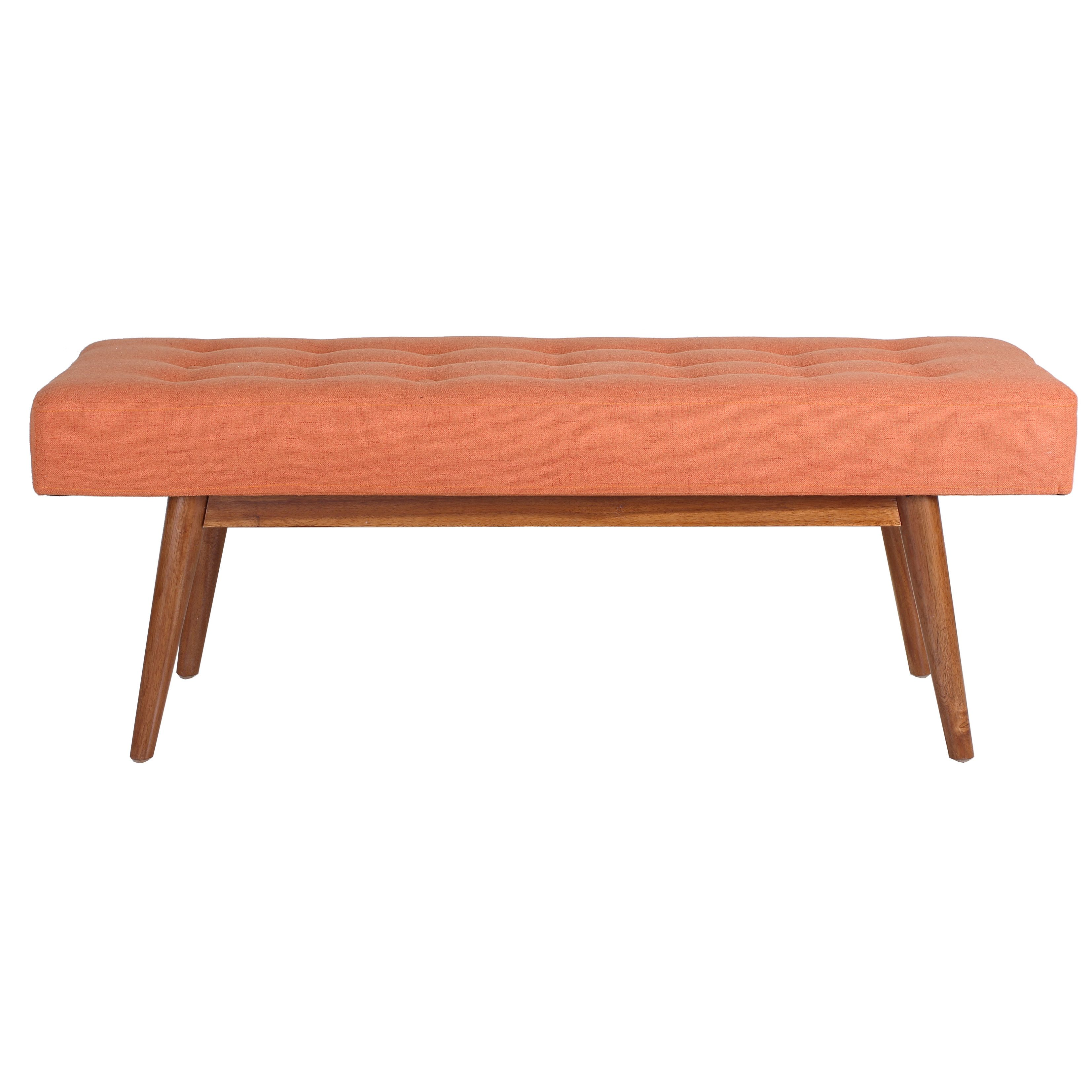 Porthos Home Etheline Upholstered Bedroom Bench gets free shipping to your business from Wayfair Supply - Great deals on all office products with an amazing selection to choose from.