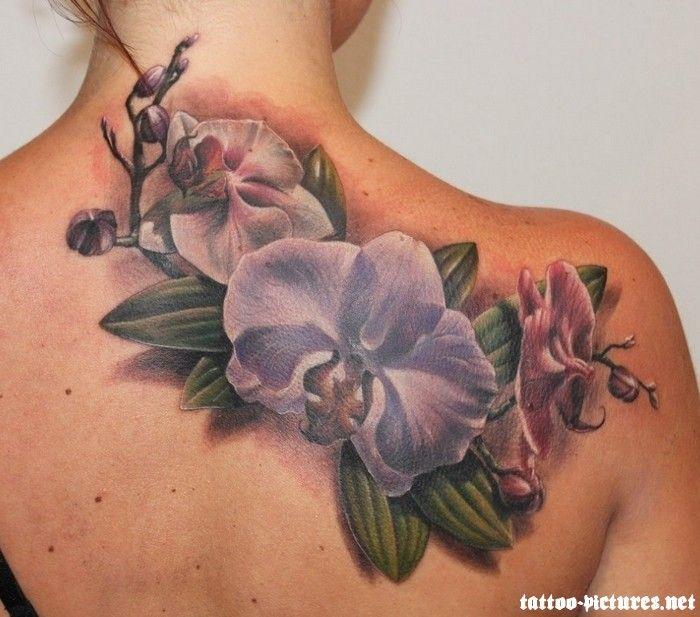 Amaryllis Thigh Tattoo