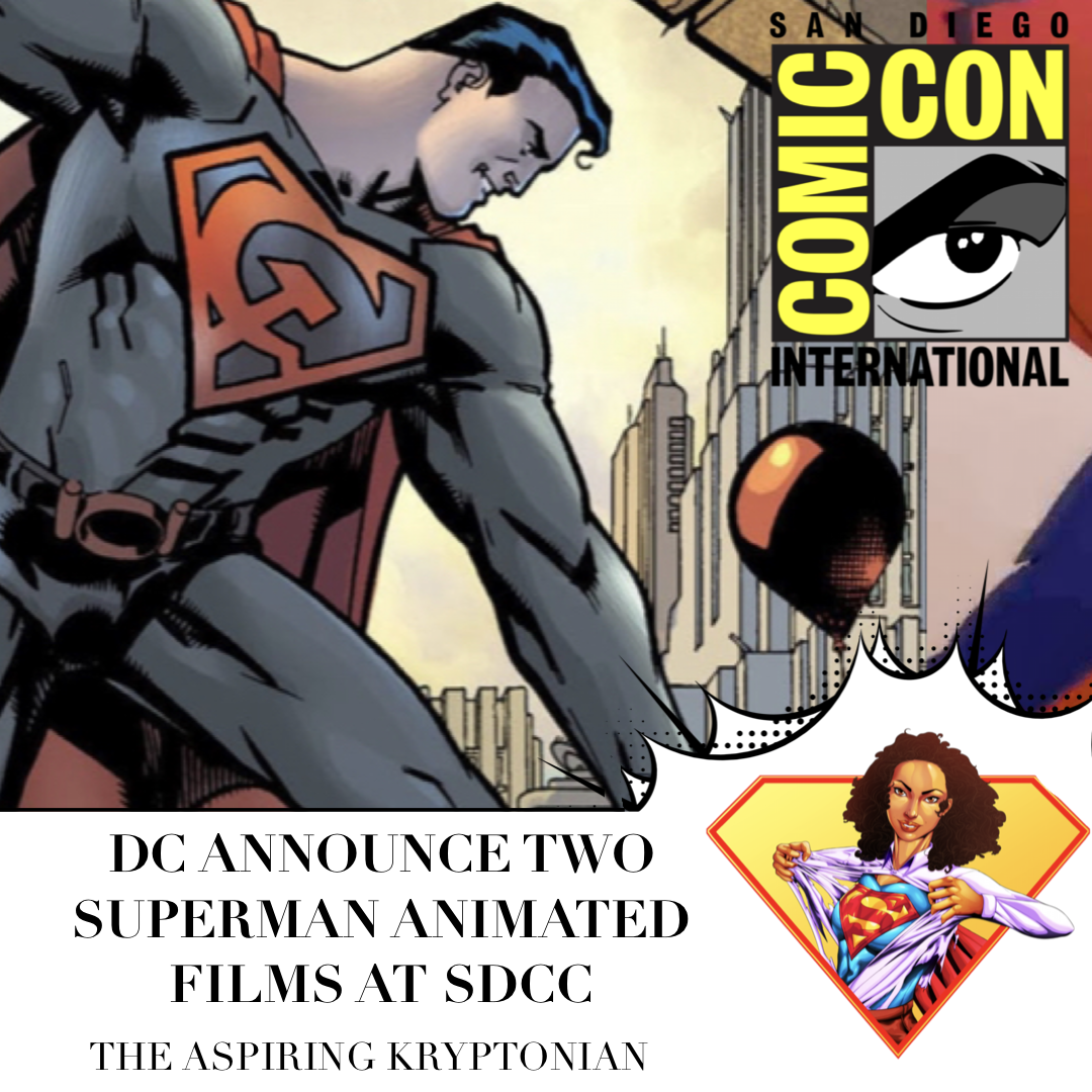 DC Announce Two Superman Animated Movies For 2020
