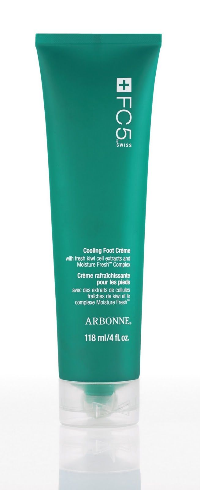 Arbonne Cooling Foot Cream Can Also Be Used As A Deodorant