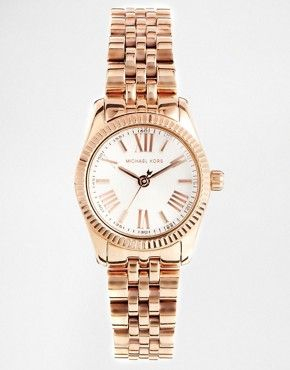 79b56363b007 Michael Kors Lexington Mini Rose Gold Watch MK3230