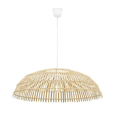 GONG Suspension électrifiée XXL en bambou naturel D63cm