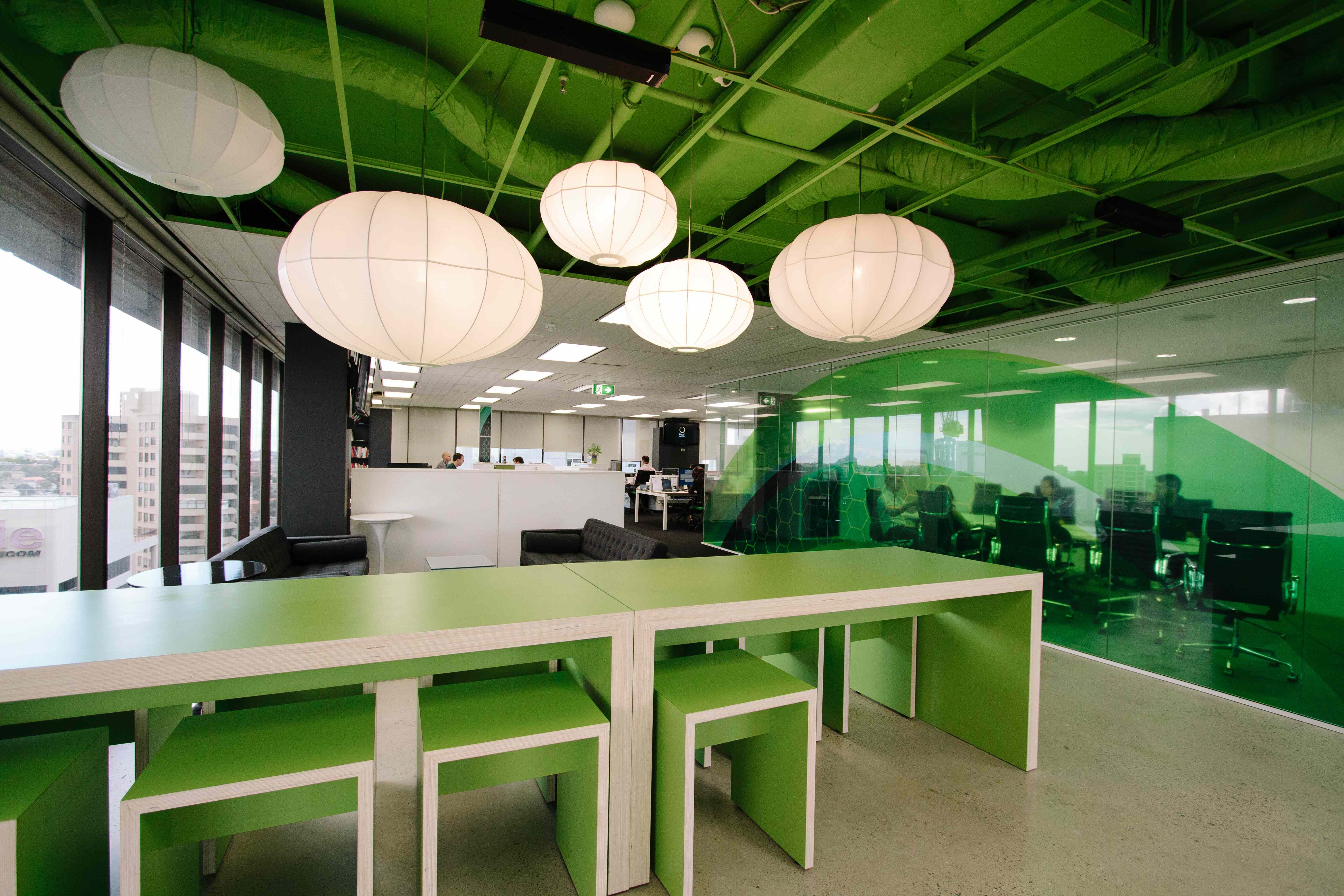 office tour inside mec s colorful sydney offices office on commercial office space paint colors id=83773