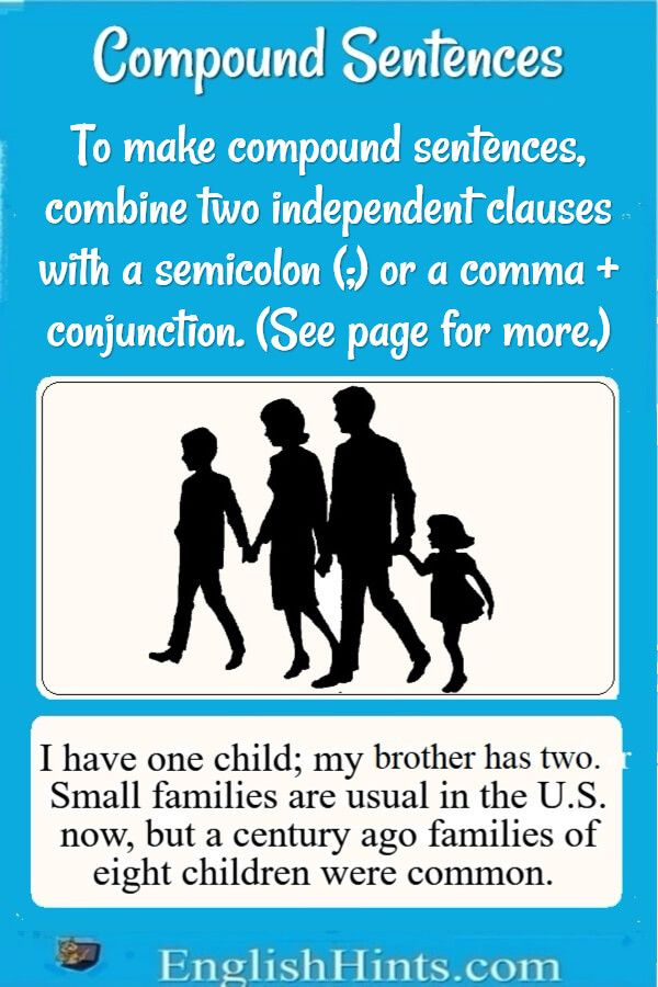 Compound Sentences Examples and Practice Sentences and Sentence - copy informal letter format exercise