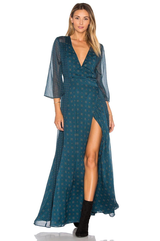 Tularosa jolene dress in deep tourmaline fashion pinterest fashion