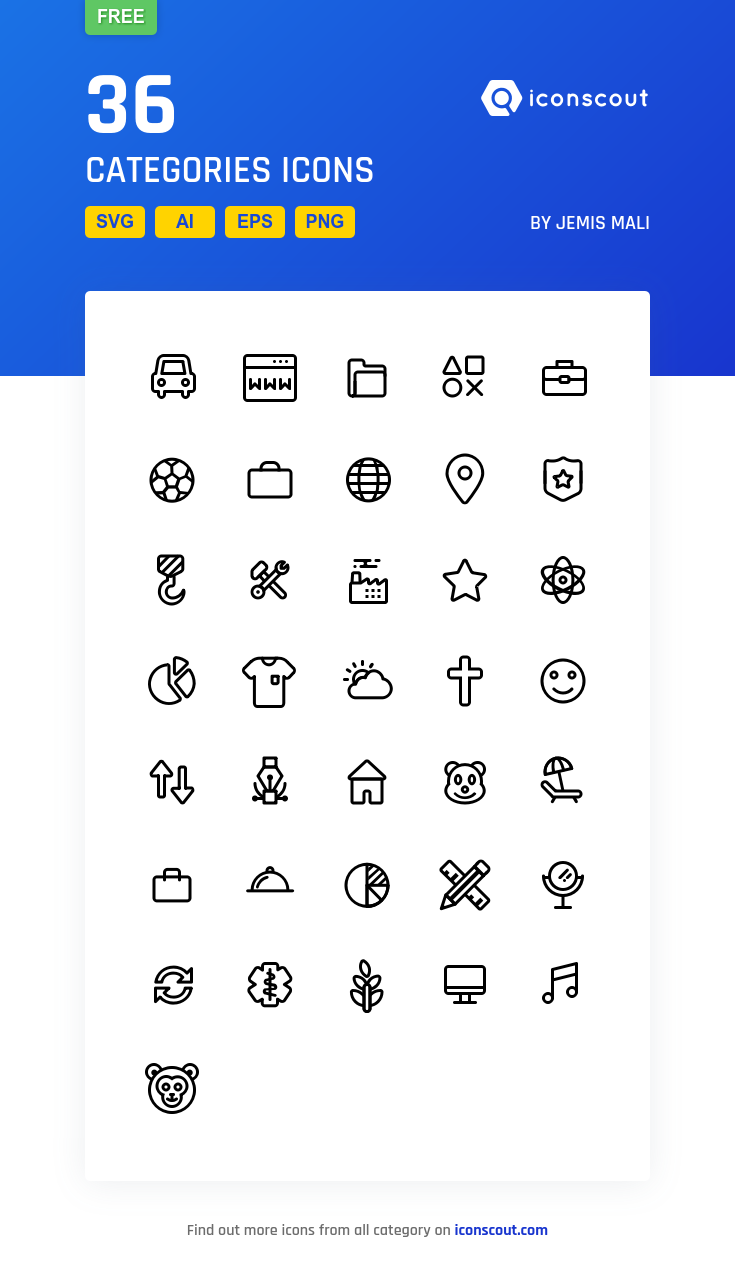 Download Categories Icon Pack Available In Svg Png Eps Ai Icon Fonts Icon Pack Media Icon Icon Font