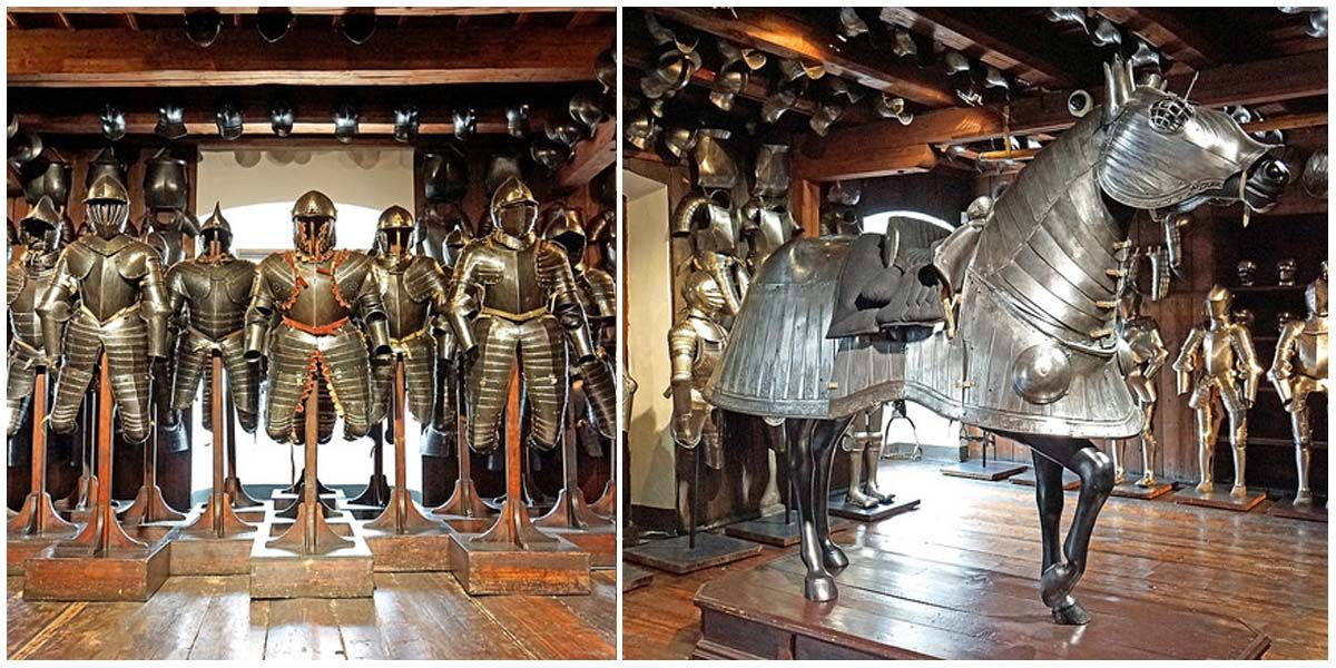 The 400 Year Old Styrian Armoury Is The Largest Historic Armory In The World Historical Armor Medieval Armor Armory