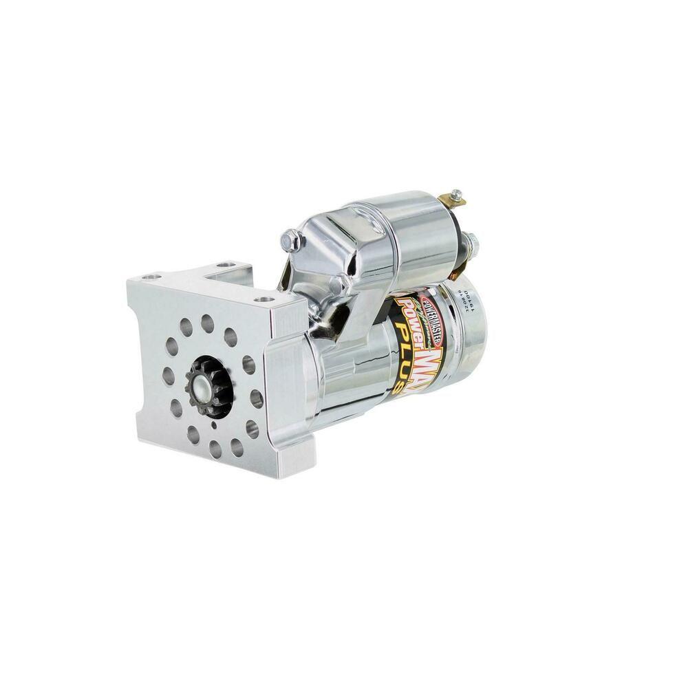 sponsored ebay powermaster 19112 powermax starter mini chrome chevy [ 1000 x 1000 Pixel ]
