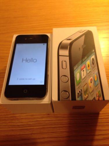 Apple iPhone 4S - 16 GB - Black (Orange) Smartphone
