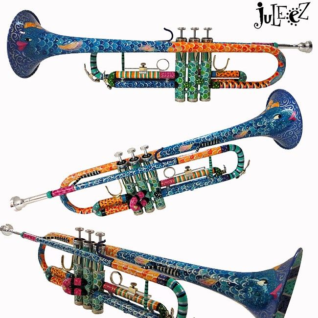 Pictures Of Trumpets To Color