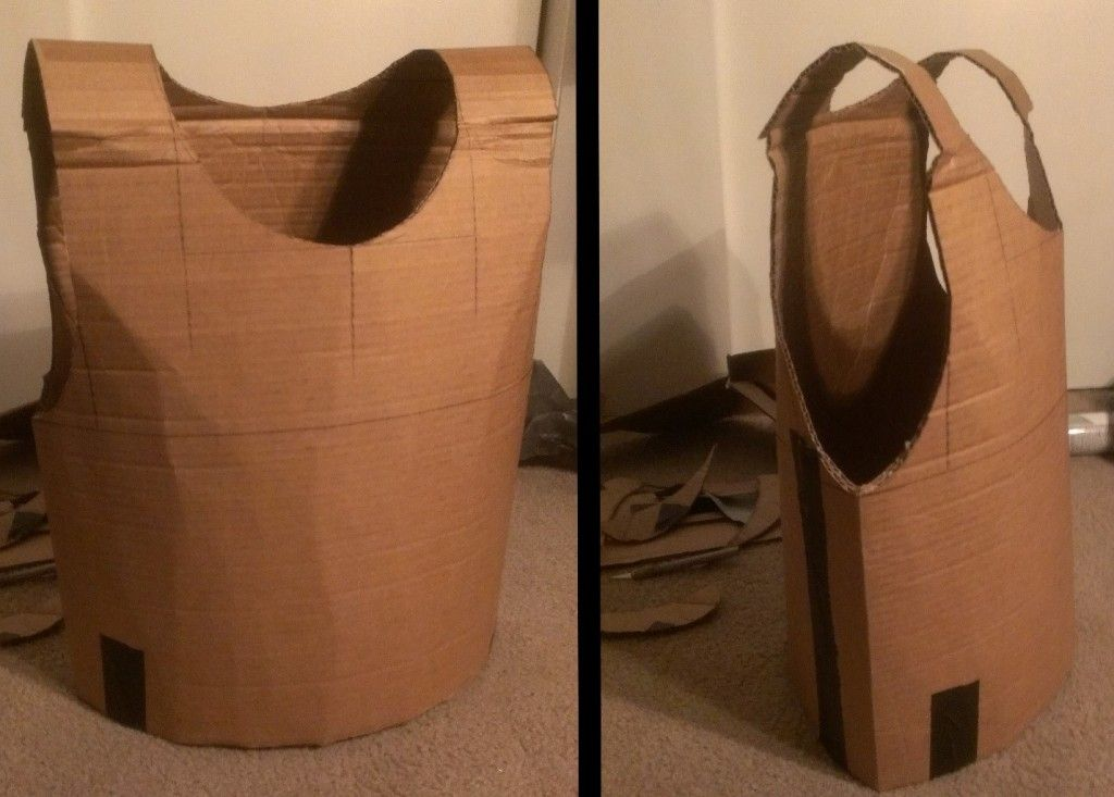 how to make a cardboard chest piece armor- for Chase's palace guard Homemade Armor Designs on homemade iron man armor, homemade cardboard armor, homemade body armor, homemade bulletproof armor,