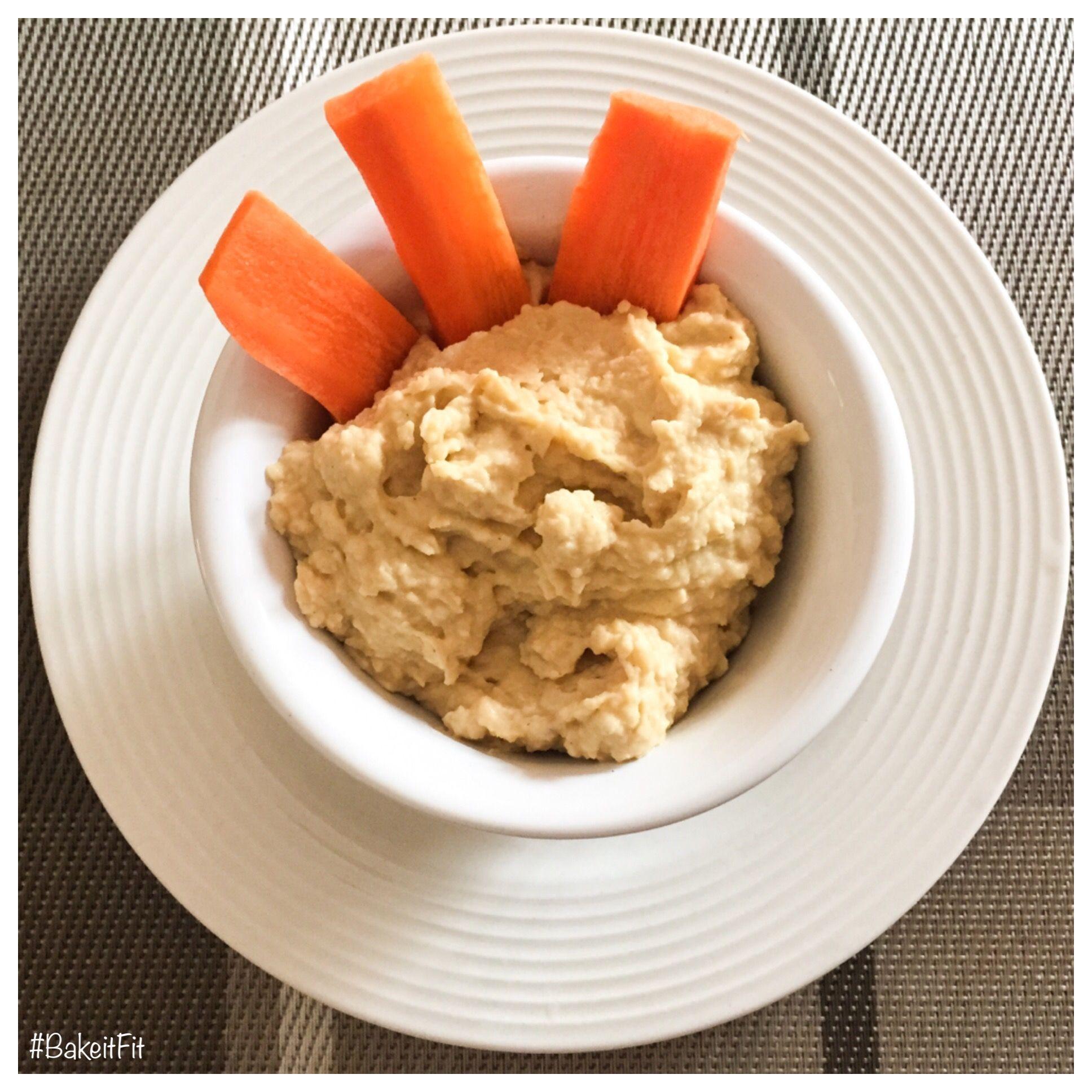 Healthy Hummus #BakeitFit