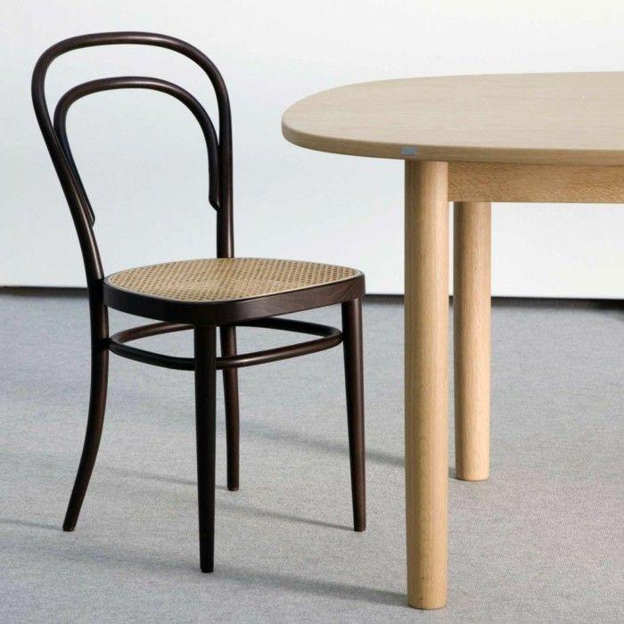 Designklassiker Stühle thonet stühle designklassiker wiener stil esstisch buchholz mid