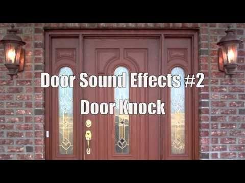 Door Knock Sound Effect Sound Effects Knock Knock Doors