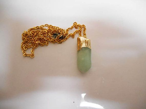 Hey, I found this really awesome Etsy listing at https://www.etsy.com/listing/185247861/aventurine-green-spiritual-necklace
