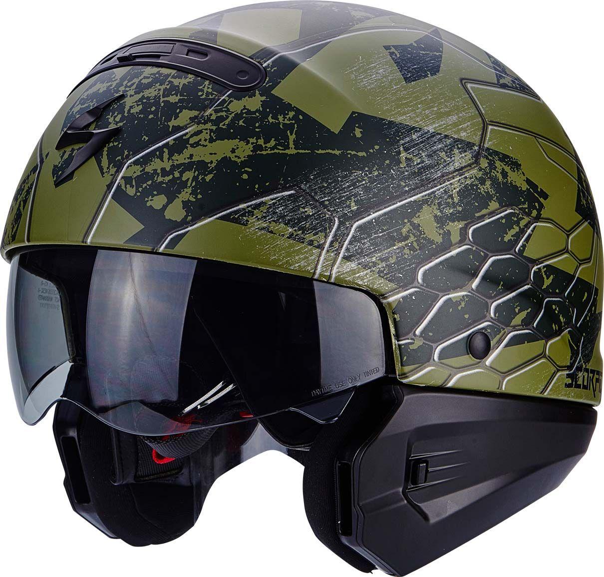 Scorpion Covert Ratnik Helmet Versatile 3-in-1 Road helmet Bell rogue shark raw