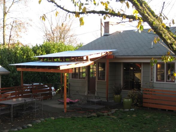 New Steel Roofed Patio Cover, Patios U0026 Decks Design