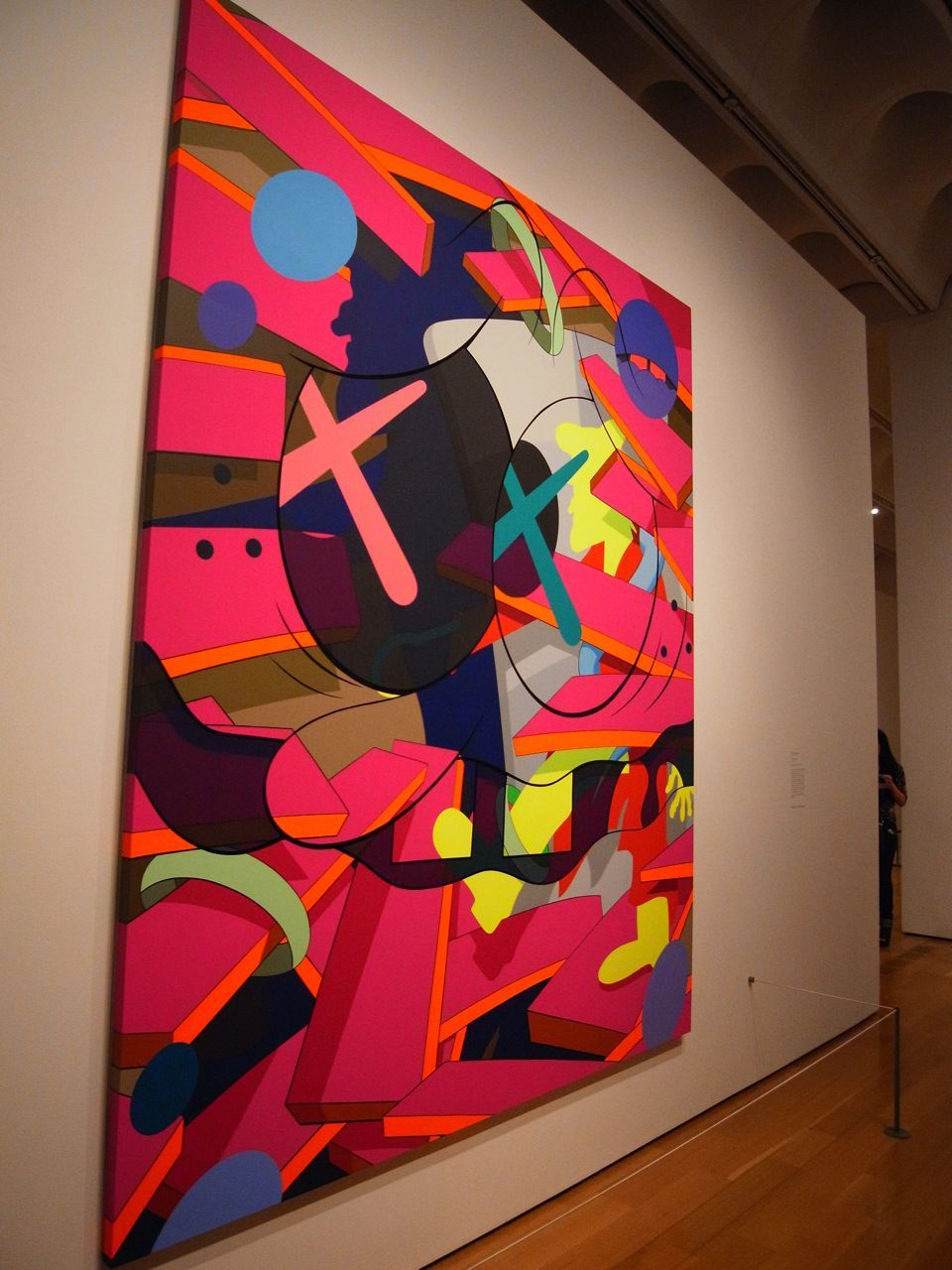 """Kaws """" Time"""" High Museum Of Art In 2019 Painting"""