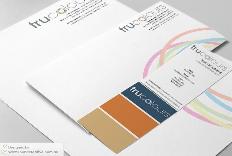 Trucolours colour consultant business cards created to look like a trucolours colour consultant business cards created to look like a paint swatch logo letterhead reheart Choice Image