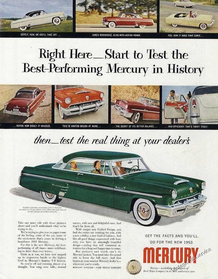 1953 Mercury \