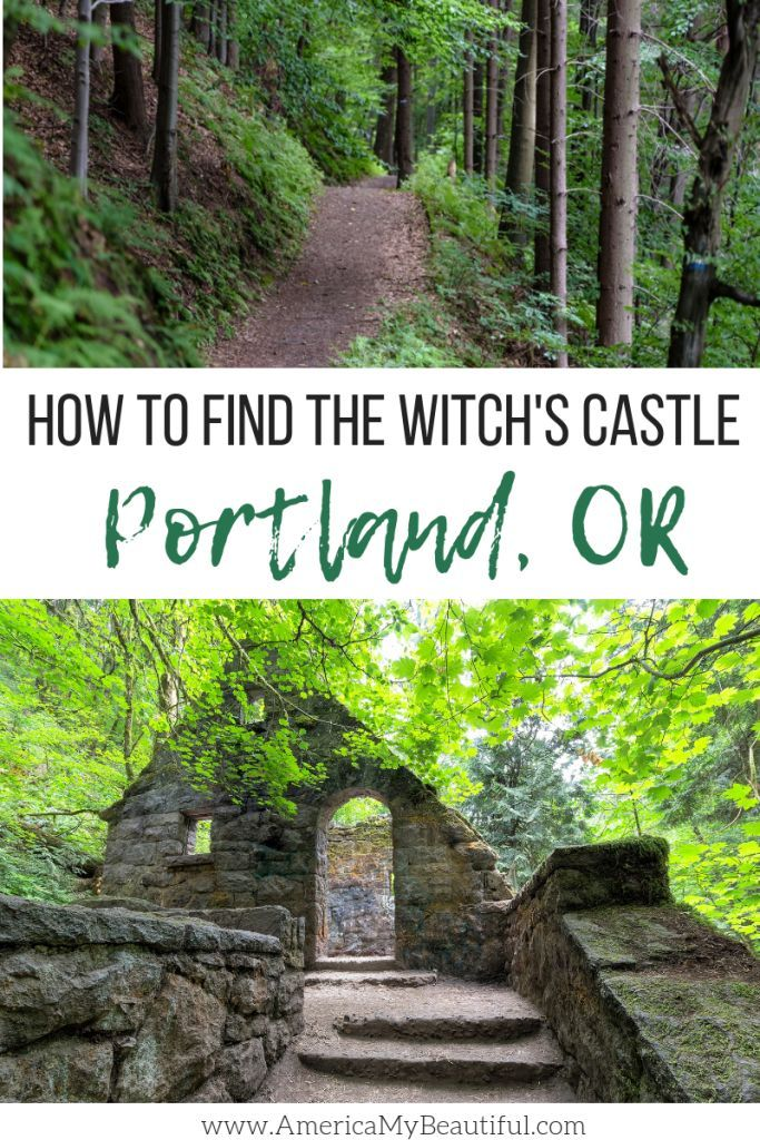 How to Find the Witch's Castle in Portland, Oregon