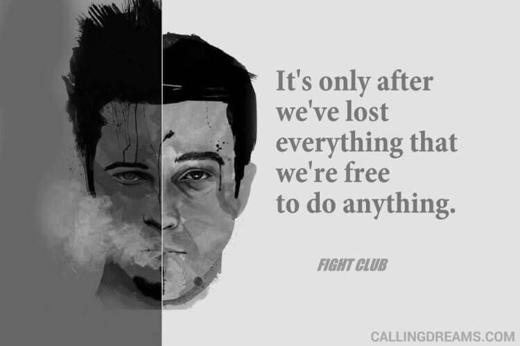 Tyler Durden Quotes from Fight Club Movie