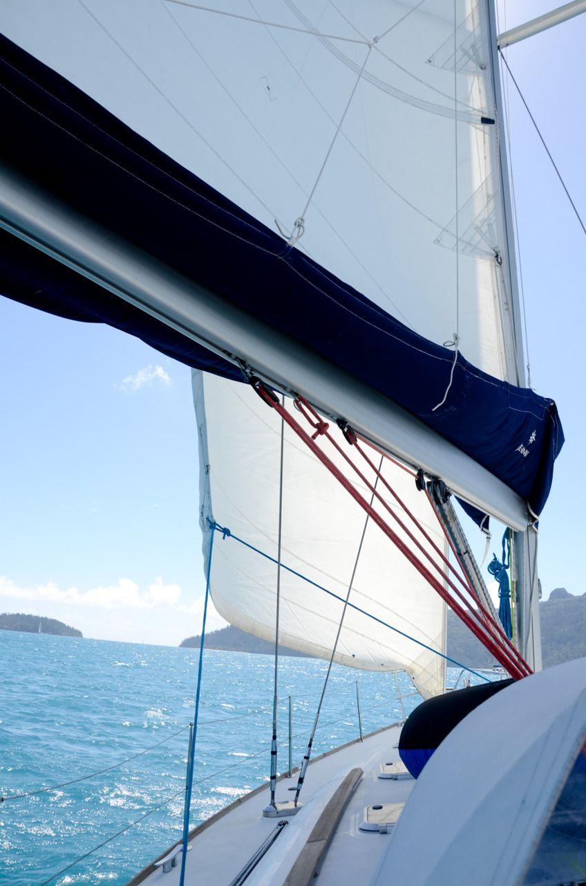 Nothing Less Than Perfect Sailing Boat Sail Away