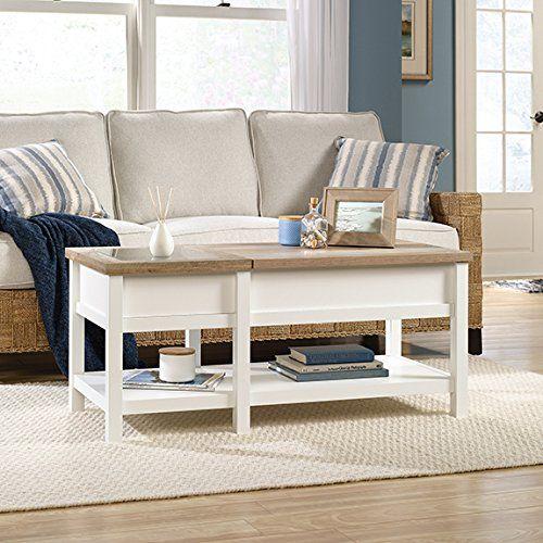 Sauder Cottage Road Lift Top Coffee Table In Soft White S Https Smile Dp B0746stk9s Ref Cm Sw R Pi U X Nhakab5q9vj55