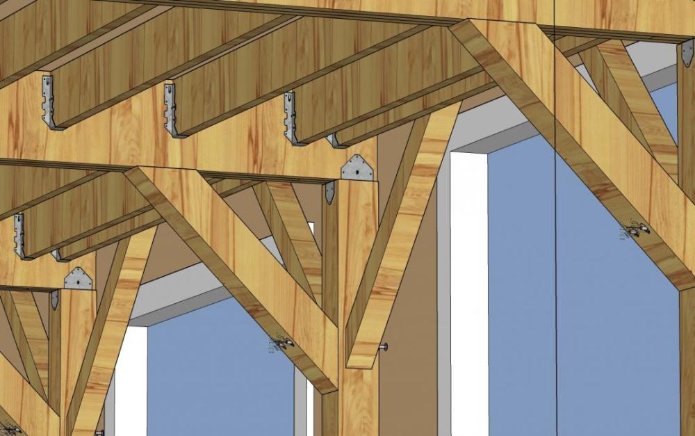 Knee Bracing Alternatives For Freestanding Deck Doityourself Com