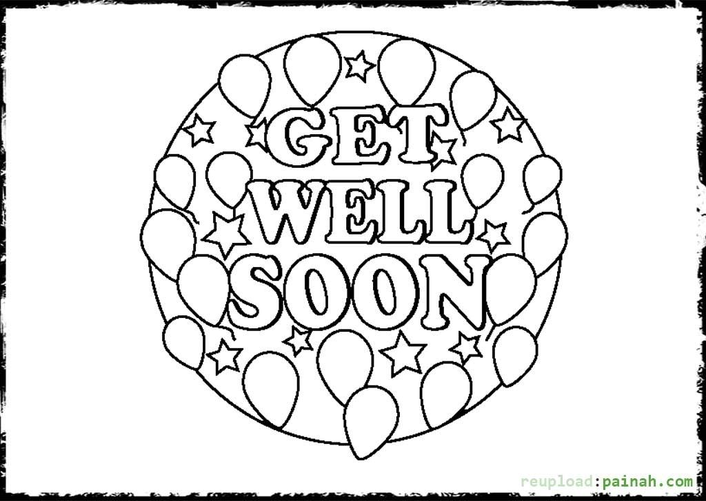 Get Well Soon Coloring Pages To Download And Print For Free For Get