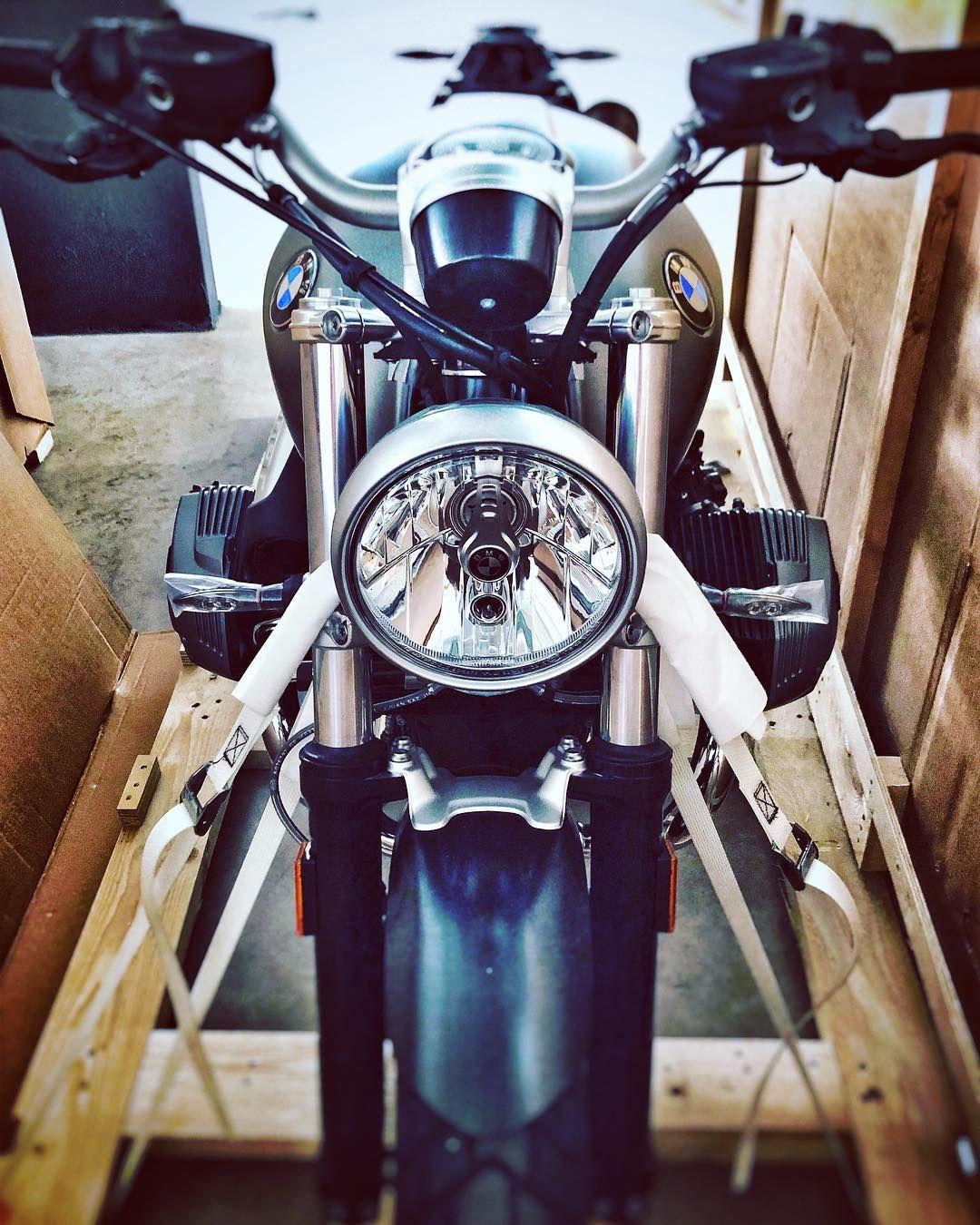 Unboxing R Ninet Scrambler Bmw Bmwmotorcycle Motorrad