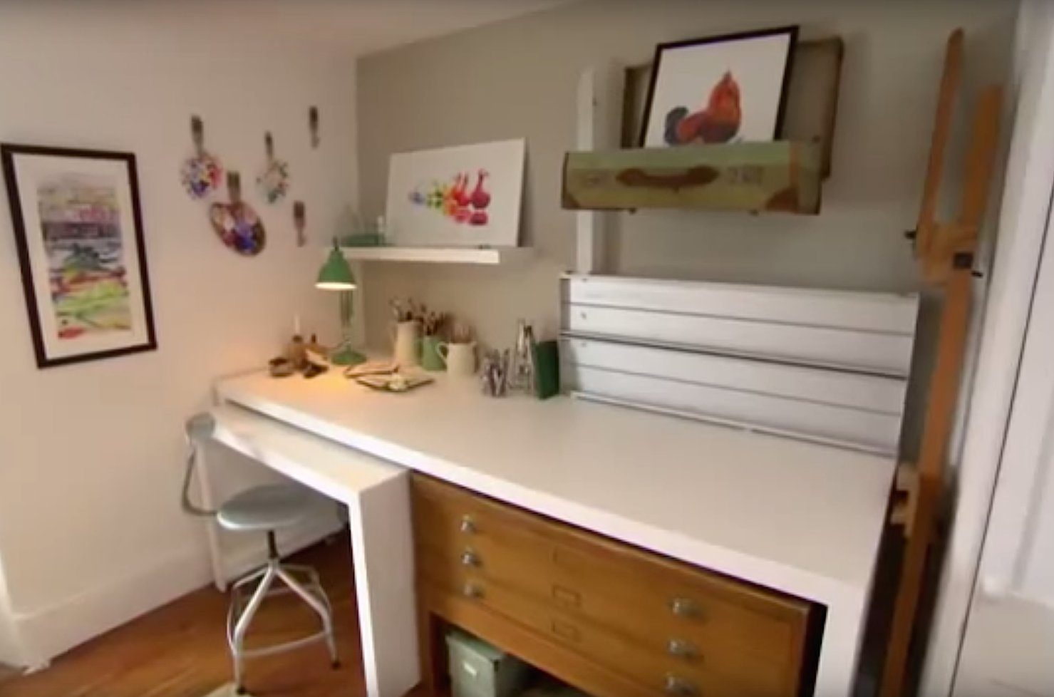 The Great Interior Design Challenge Series 2 Bespoke Desk And