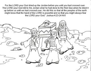 Joshua Crossing The Jordan River Kids Bible Story With Pictures