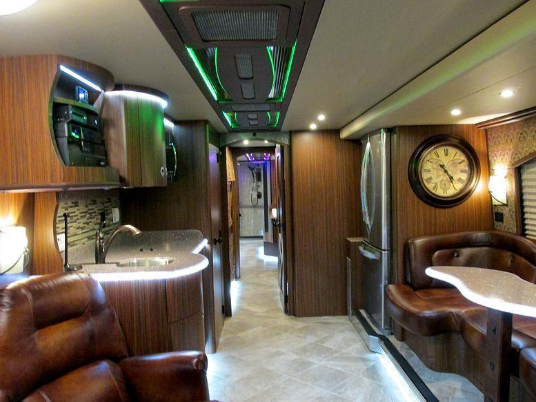 superior coach interiors custom luxury motor coaches and service rvs prevost coaches pinterest