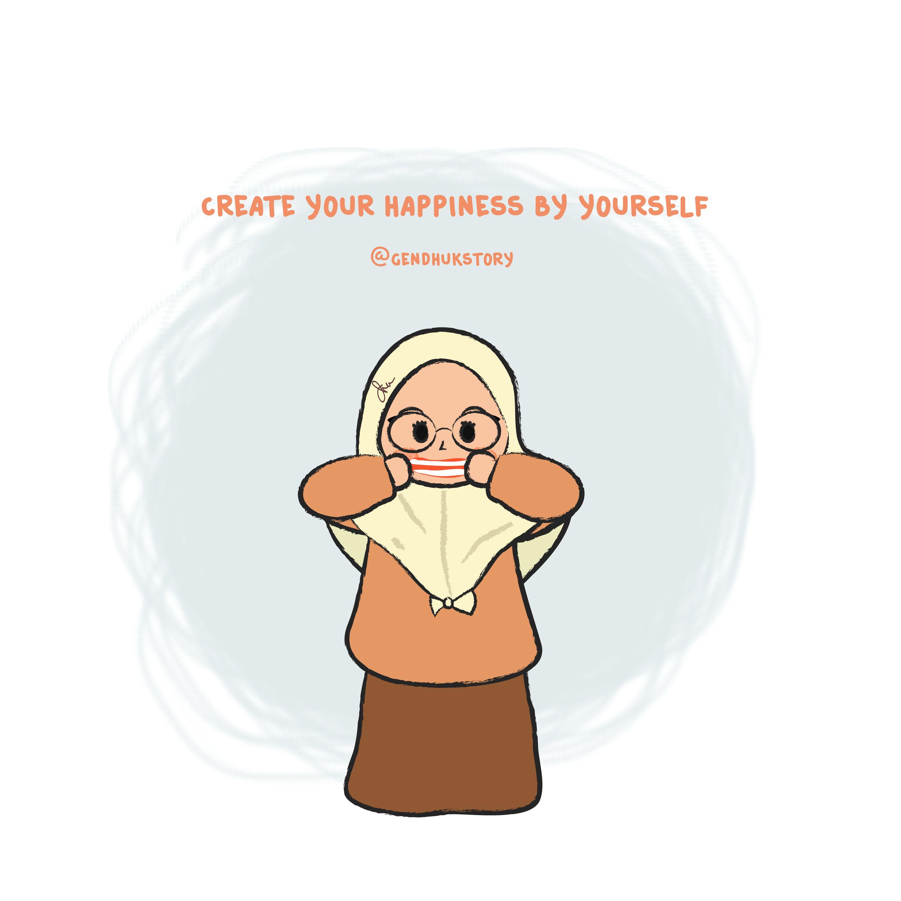 Pin oleh Gendhukstory di muslimah gendhukstory Kartun
