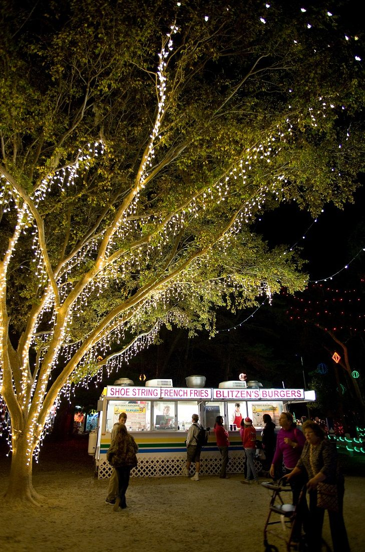 James Island Lights Classy Food Vendors Offer Tasty Snacks At The Holiday Festival Of Lights In Design Decoration