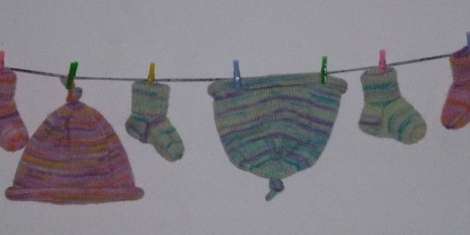 Stricken Erstlingsmütze Baby My Free Knitting Pattern For Stricklinge 39;s Baby Socks And